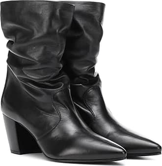 Ankle Boots Leather Slouched Prada Prada Slouched Xtq1wnSI