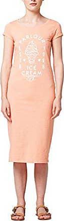 Mujer Esprit Vestido Medium salmon Naranja Edc 860 Para 068cc1e002 By ZqCxW754