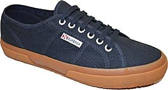 Unisex Eu Blau Superga 35 gum erwachsene cotu 5 Gymnastikschuhe Classic navy 2750 white G01 qOdAw6
