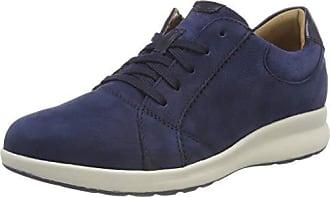 Un Eu Derby Combi Cordones De Adorn Azul Mujer Lace Zapatos 41 navy Para Clarks 5 Cq6dw6