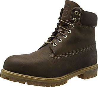 brown Timberland Impermeables Marrón Premium Grain In Eu 41 Botas 6 Burnished Full Waterproof aqqHx0Z