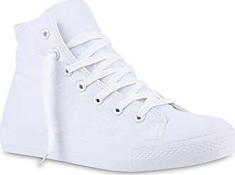 37 Flandell Denim Camouflage Turn Sneakers Schuhe 140051 Schnürer Sneaker Herren Total Weiss High Stiefelparadies Stoff FOxq6wU