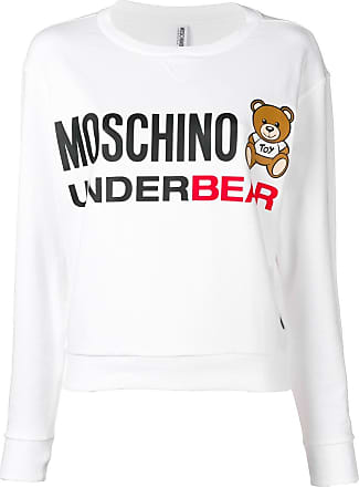 Underbear Moschino Wit Met Sweater Print wE6qRgnr6