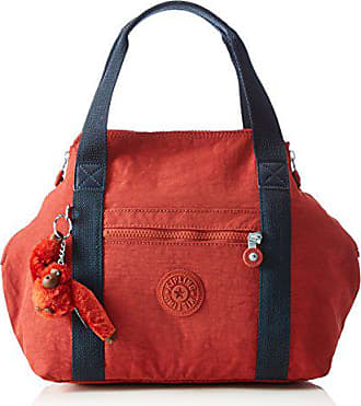 Para Superior Bolsa Cm S Art De 21o Bl Kipling Rojo Rust Red Asa Mujer 44x27x18 EwqYXFBx