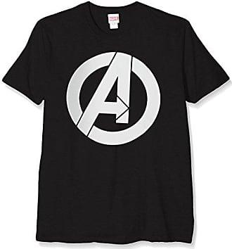 Negro Bilaa00058 Marvel Medium black camiseta Hombre SSOqwxUg