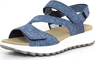 83 blau 2 Sandaletten Damen 00714 Shark Legero RwAqw