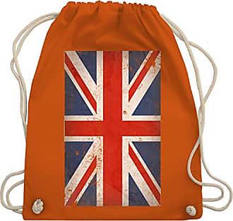 Unisize Flagge Städteamp; KindGroßbritannien Shirtracer Gym Wm110 Länder Bag Vintage Orange Turnbeutel XwOPTkZiu