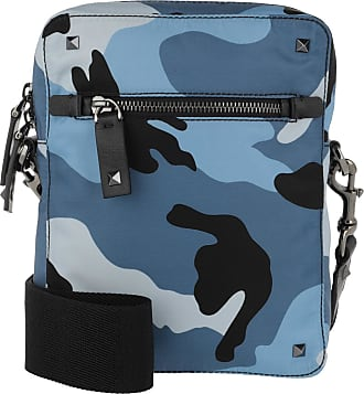 Bluette Blau Umhängetasche Crossbody Valentino Nylon Bag Rockstud Light vNny8wm0O