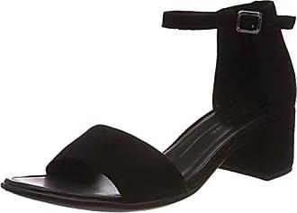 35 Shape 40 Femme Noir black Ouvert Sandales Ecco Eu Bout 6R7qdw