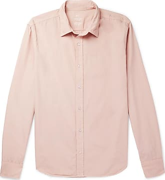 Khaki Easy poplin Shirt Save Pink Cotton United TqTdp