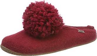 Mit Pantoffel Rot rubin 42 Wollbommel Kitzbühel 389 Pantoufles Femme Living Eu EOqp5w7
