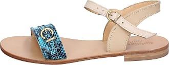 Vert Calpierre Bz837 Femme Cuir Marron Sandales Chaussures qqxtpBA8