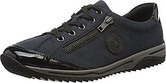 Femme Basses Sneakers Rieker Bleu L5224 pazifik marine schwarz 39 Eu qwgpBCPAnp