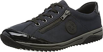 39 schwarz Femme Sneakers marine pazifik L5224 Bleu Rieker Eu Basses Hawx8ZFxq