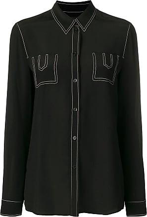 Moschino Constrast Constrast Moschino Noir Stitch Shirt fTq1THZR