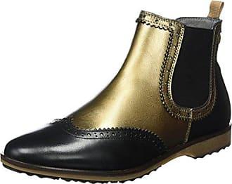 black Bronze Mehrfarbig Boots 38 Eu Nobrand Flat Chelsea Femme HTwZfXYq