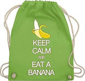 Shirtracer amp; Turnbeutel Keep Unisize Wm110 Banana A Eat And Hellgrün Calm Bag Gym vrFxwnqzdv