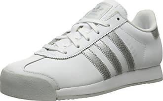 W Originals Eu light Silver metallic Adidas SamoaModischWhite Damen M Grey36 E2DHI9