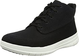 44 High Zapatillas Para Fitflop Hombre black Eu Pop Canvas Negro Sporty qwABCA