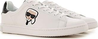 Cuir 43 42 40 Blanc Homme 2017 Karl 44 45 41 Lagerfeld Sneaker wUqz8WTaI