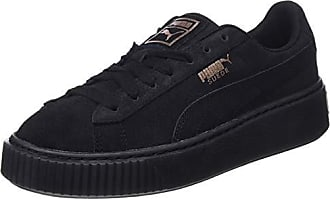02 Artica Puma Platform Eu Wns Sneakers Noir Basses Suede Femme 38 Black p1qq7nxF