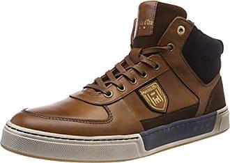 Eu Mid Sneaker 42 Shell Pantofola Hohe Frederico Braun Herren jcu Uomo D'oro tortoise nwaSx7A6