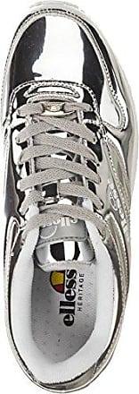 36 Damen sneaker Schuhe Metallic Silberfarben Heritage City Runner Ellesse FZUwq8Z