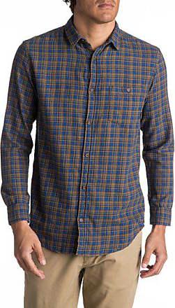 Phaser hemd Setting Flannel Langarm Männer Quiksilver Blau Für FSdqwUFHp
