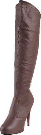 Fabulicious Brown Leather Pleaser 36 2010 Flair p Damen Stiefel brown BrYBX
