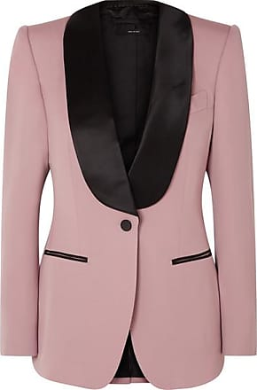 Satin Soie Laine Faille Blazer Rose Ford De En Tom Et vAS0wqx