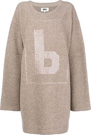 Oversize Robe Maison Neutres Tons pull Margiela q5W4rv4t