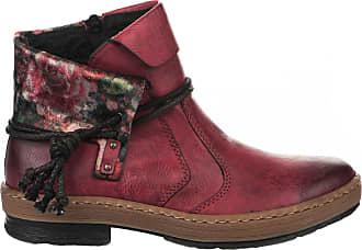 Rieker Rieker Rouge Boots Rieker Femme 36 Boots Femme 36 Rouge Rouge Boots Femme n1648wCq