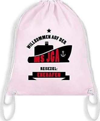 e87f41897e3b5 Ms Wm110 amp  Pastell Rosa Jga Unisize Bag Junggesellenabschied Turnbeutel  Shirtracer Gym wOYxFqRf