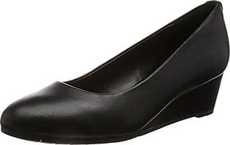 black Bloom 5 39 Eu Vendra Noir Leather Bout Fermé Femme Sandales Clarks nB10RwqT0