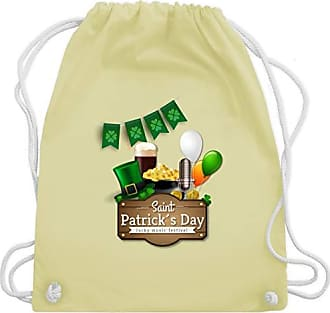 Shirtracer Music Gelb StPatricks Pastell DaySaint Gym Happy Turnbeutelamp; Festival Wm110 Bag Unisize N0nmw8