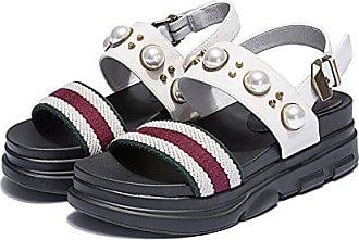 Xzgc Im Unten Muffin Pearl Eu Student Freizeitaktivitäten Sandalen Weiß 39 Schuhe Komfort Sommer Dunkel FrqwS5rp