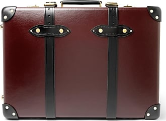 Globetrotter trimmed Centenary Leather on Suitcase Carry Burgundy 20 8rrBqnUt