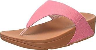 Ouvert 40 thong Rose Toe 539 Sandals Eu Fitflop shimmer Lulu denim Femme pink Bout 07qxwHEz