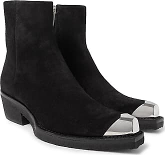 cap Black Suede Toe 205w39nyc Calvin Metal Boots Klein wqInF0