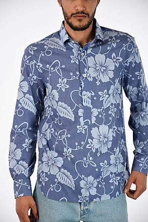 Floral Shirt Aathos Doppiaa Printed Size 41 x7vq8x0w1U
