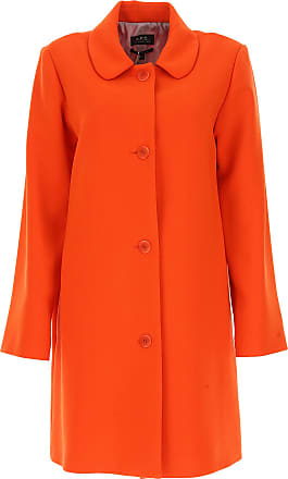 A Polyestere 2017 p Cappotto On c 38 40 Donna Arancio Sale wrBwHqfxT