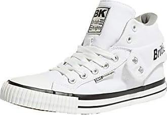45 white Hohe grey Sneaker Unisex Roco Weiß Eu erwachsene British 20 Knights 0qCOFwFv