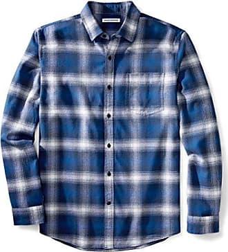 Essentials lunghe flanella Amazon maniche in Camicia a 6UxWFCT