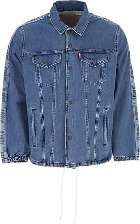 Blue On Levi's L Men Denim Sale S Jacket Cotton M 2017 For tUqBX