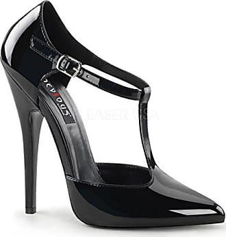 Gr Domina Lack Pleaserusa Schwarz heels Pumps Higher 47 415 n0tzWq