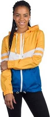 Zuri Windbreaker White Radiant Zine Yellow Skyd vgdPwx