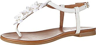 7176 16780306 37 Eu Blanc white Femme Tongs Inuovo B8Cwqxff