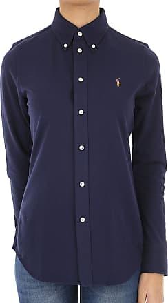 2017 38 Navy Cotton 40 Ralph Polo Lauren 44 Shirt For Women wxpRpOaqF6