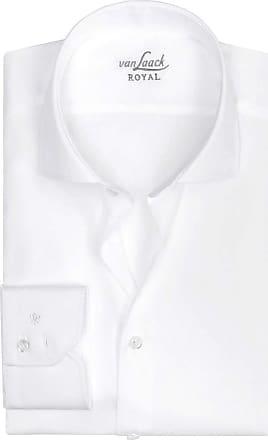 Einfarbig Van Fit Laack Weiss Slim Hemd g4q4TvYxw