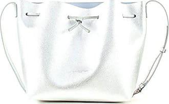 Lancaster Bucket Bag Pur Saffiano Argent NOvm80wnyP